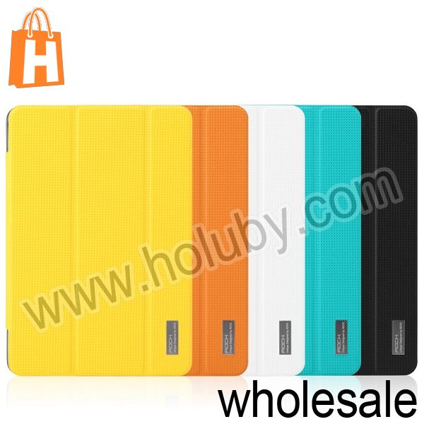 ROCK Elegant Series Smart Flip Leather Case for iPad Mini 2 Retina with Stand