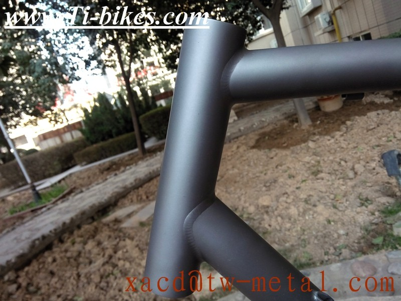 Titanium MTB Bike Frame With BB30 titanium bicycle manufacturer