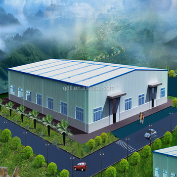 steel structure agriculture warehouse / factory