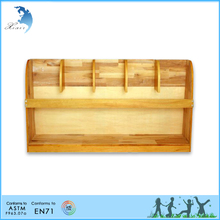 Wholesale montessori nursery equipment material used paulownia wooden cabinet
