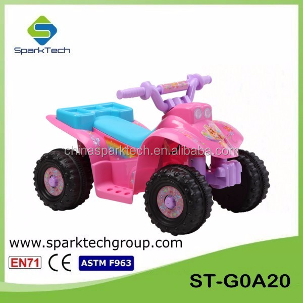 Wholesale 6V Mini ATV Toy Cars Pink Kids ATV Cheap ATV for Kids