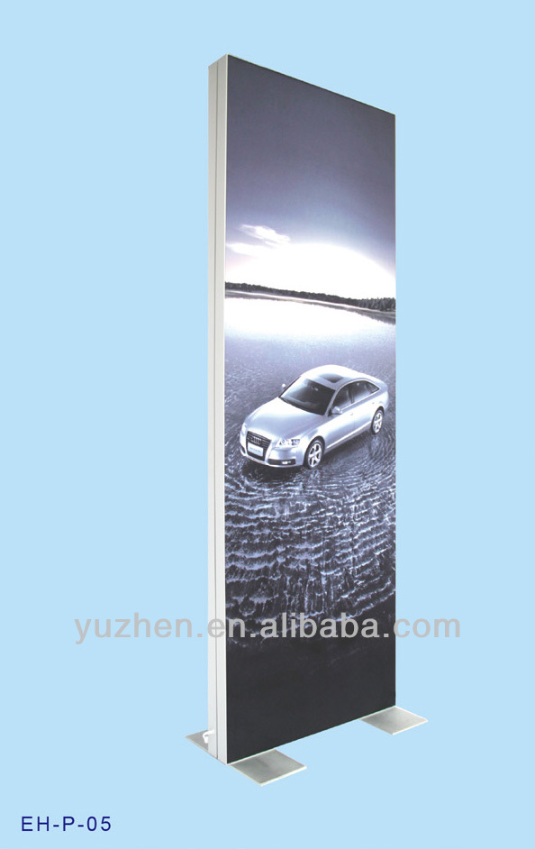 Double side outdoor advertising LED light box