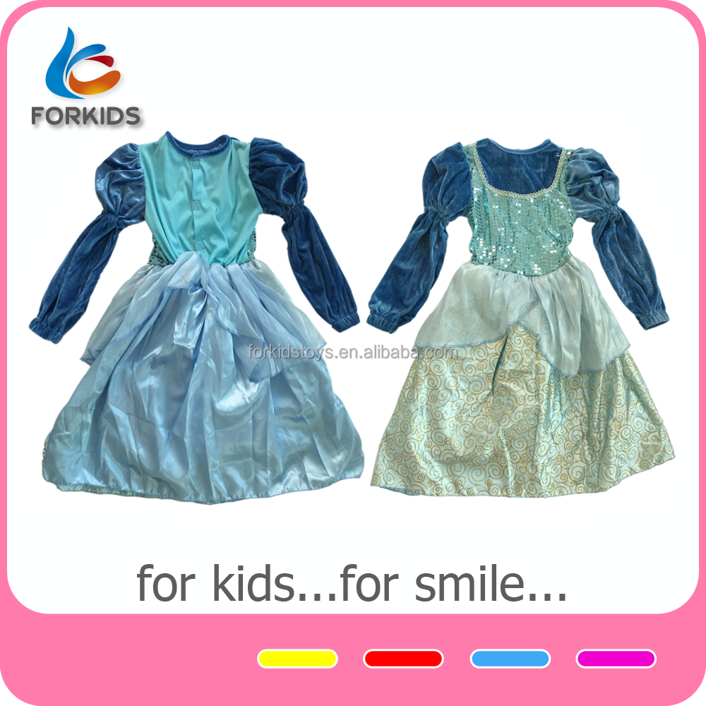 High-end children girls party dresses for tops and skirts designs,one piece girls kids fancy dress costumes