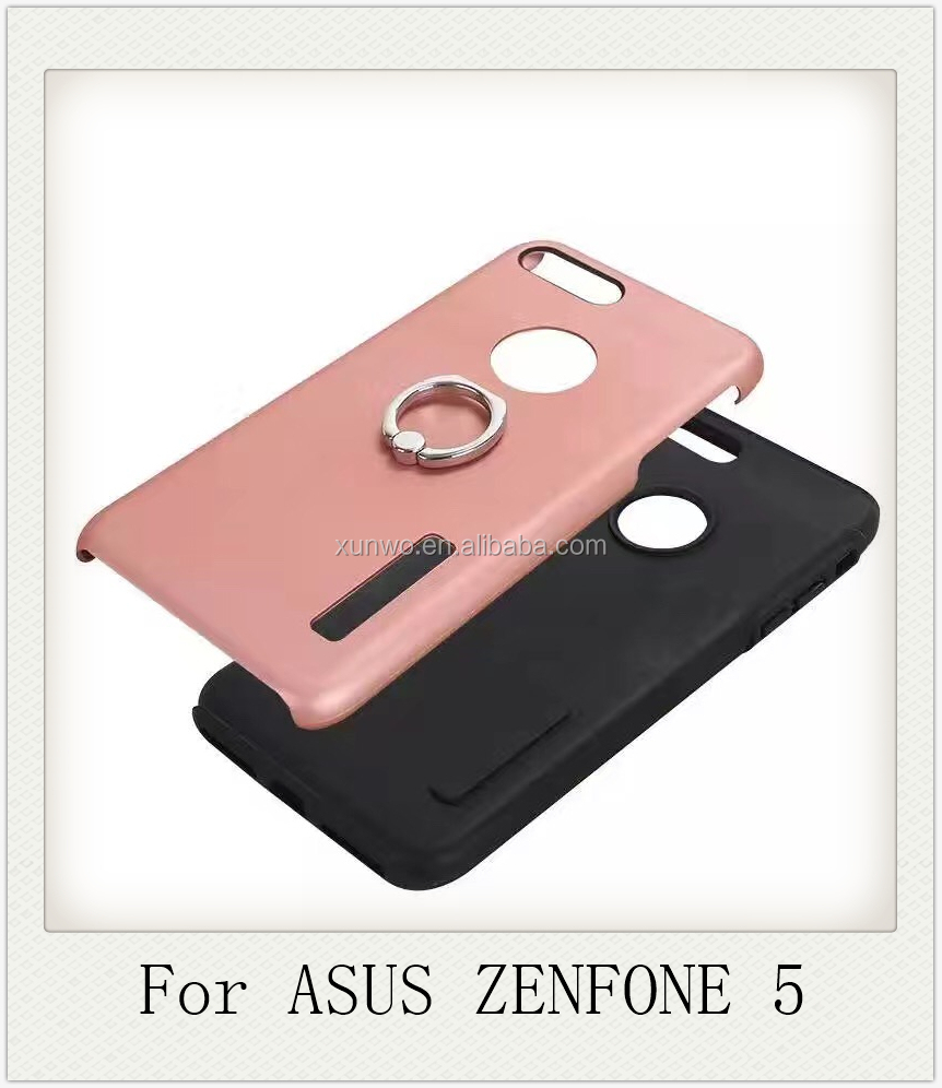 Good quality back cover for asus zenfone 5 PC+TPU shockproof frosted combo case