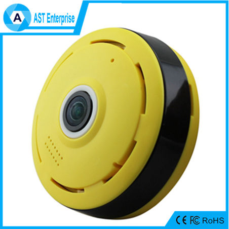 Wireless IP Panoramic Fisheye CCTV Support 3D realtime preview 360 Degree WiFi Camera