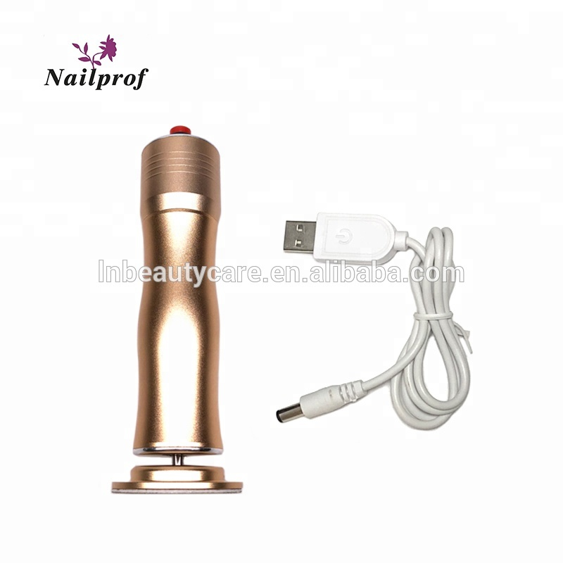 Nailprof  Portable Wireless Foot Cuticle Callus Remover Machine that can use everywhere