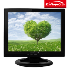 Low Price 13 inch TFT LCD Monitor DC 12 volt with VGA USB AV TV input