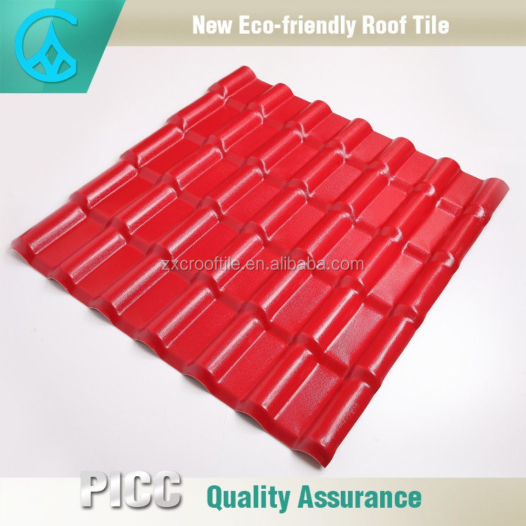 Alibaba Aduit Building Plastic Factory Red slate roofing
