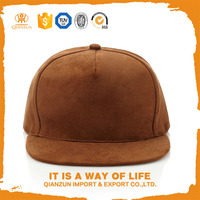 Hot selling custom suede snapback hats wholesale