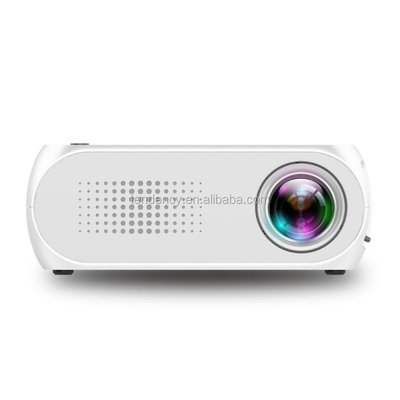 600 Lumens wholesale Multimedia Cheapest White YG 320 Home Portable Mini Projector