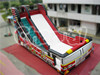 Hot Sale Titanic Fire Fighting Truck Inflatable Dry Slide for Climber