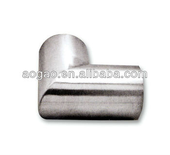 stainless steel pipe round tube corner connector