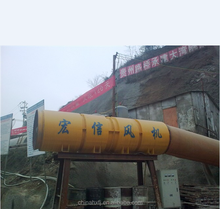 Professional double stages accelerated air flow expressway subway construction tunneling ventilation fan