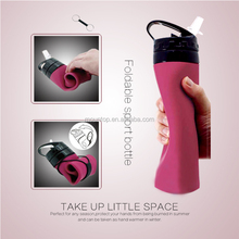 tops for women 2016 soft silicone squeeze water bottle portable pocket drinking water bottle