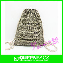 Good design Wallis and Futuna Islands custom nylon drawstring bag with low price