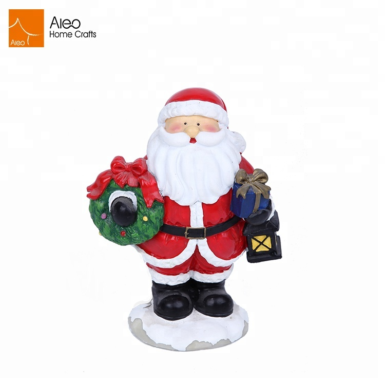 Custom Christmas Holiday Polyresin Santa Claus Figurines Buy Resin Christmas Santa Claus Santa Claus Figurines Polyresin Figurine Product On