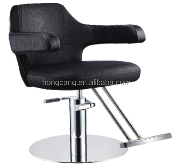 Hydraulic Barber Chair Salon Beauty Spa Styling Black