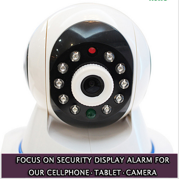 High quality ip camera wireless network 360 degree rotation