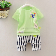 latest design children boutique clothing sports suit kids clothes baby boy summer clothes sets