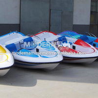 5seats fiberglass electric paddle boat