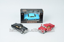 New Listed! 1:32 pull back function metal vintage toy car