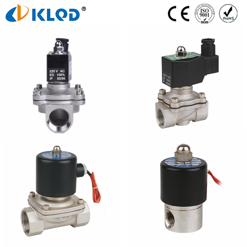 Stainless Steel Direct Action High Quality Top Selection 2WB Series Solenoid Air Valve