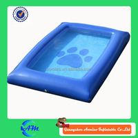 fun water world for pets inflatable dog pool