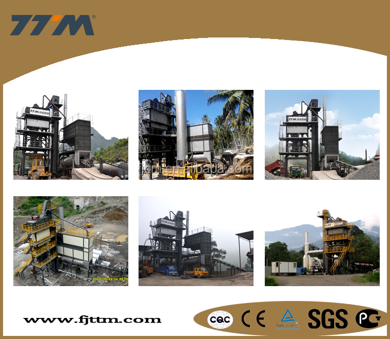 120t/h stationary asphalt mixing plant for sale, asphalt hot mix plant