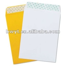Self Adhesive paper envelopes/color envelopes/C5 envelopes/ Cheap price Envelopes