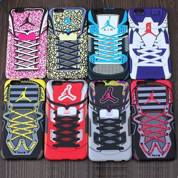 Smooth Luminous Cover Case for iPhone 6,for iPhone 6 Jordan Shoes Case,Fancy Cover for iPhone 6