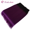 colored brazilian hair weave fast shipping, 1b purple human hair extension in guangzhou