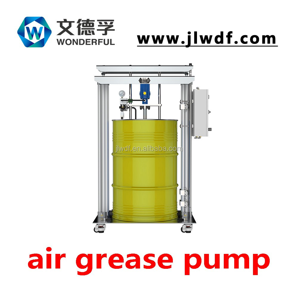 Air operated grease transfer pumps and complete grease dispensing kits