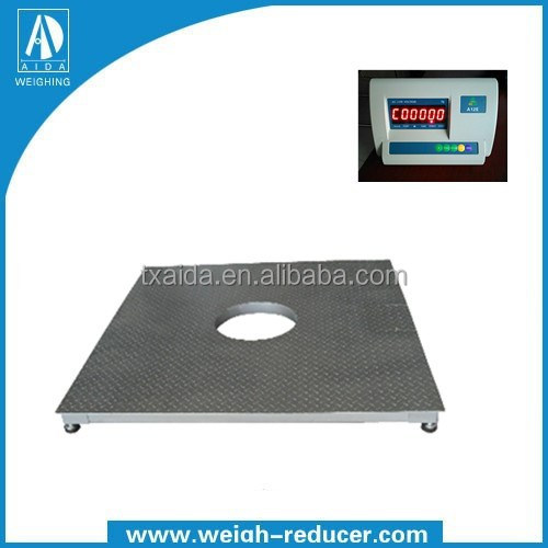 chemical, food, pharmaceutical, paper industry tank / reactor weighing electronic platform scale