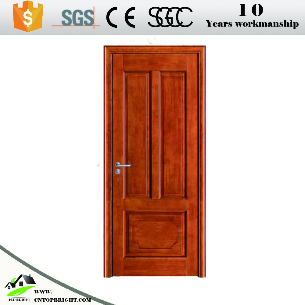 2017 main pvc coating mdf wood interior door design