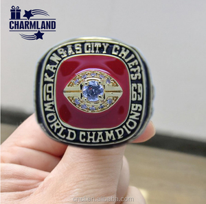 American Size 10 Kansas City Chiefs World men's Champion Ring Replica / Manufacturer High Quality Rings