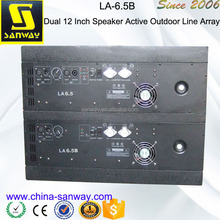 LA-6.5B Dual 12 Inch Speaker Active Outdoor Line Array