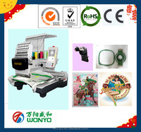 WONYO used embroidering machines single head computerized embroidery machine price 15 colors