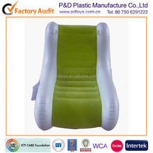 music pvc inflatable recliner with speakers