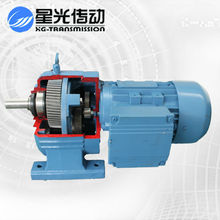 Free maintence G3 Geared motor NCJT04-Y90S4-1.1-23.21 Flange mounted geared Motor/gear speed reducer