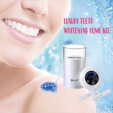 Beauty tools Professional europe Customized Dental Gel,Teeth Whitening kit strips white light Cold Light tooth cleaning machine