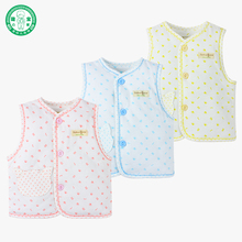 Warm newborn sleeveless baby vest