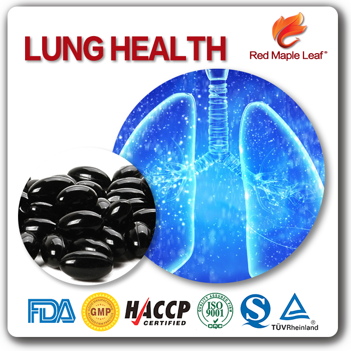 Nourishing Lungs and Stomachs Smoker Health Soft Gels