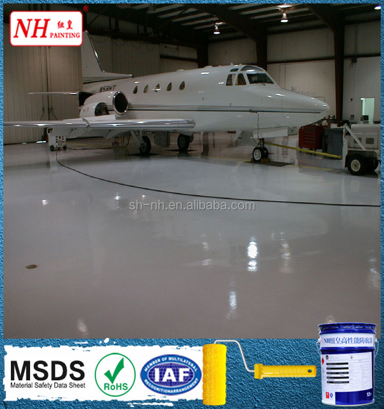 aerospace dust proof epoxy self-leveling floor coating