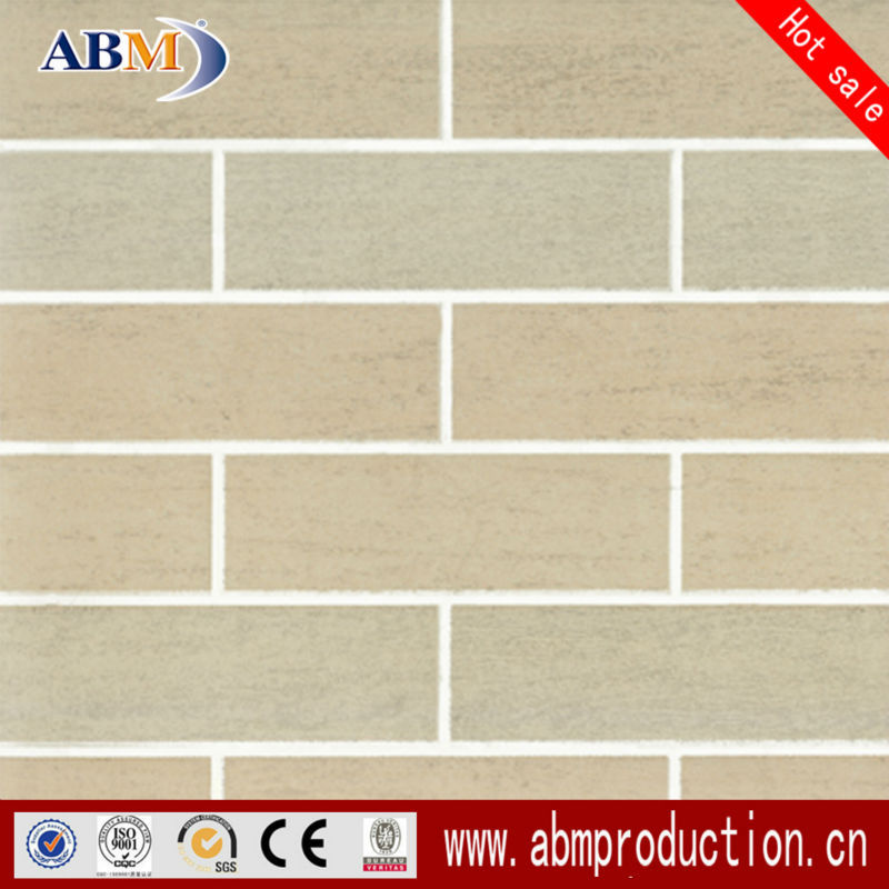 30x30 balcony non slip wood color ceramic floor and wall tile