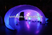 Inflatable luna tent with lighting for sale