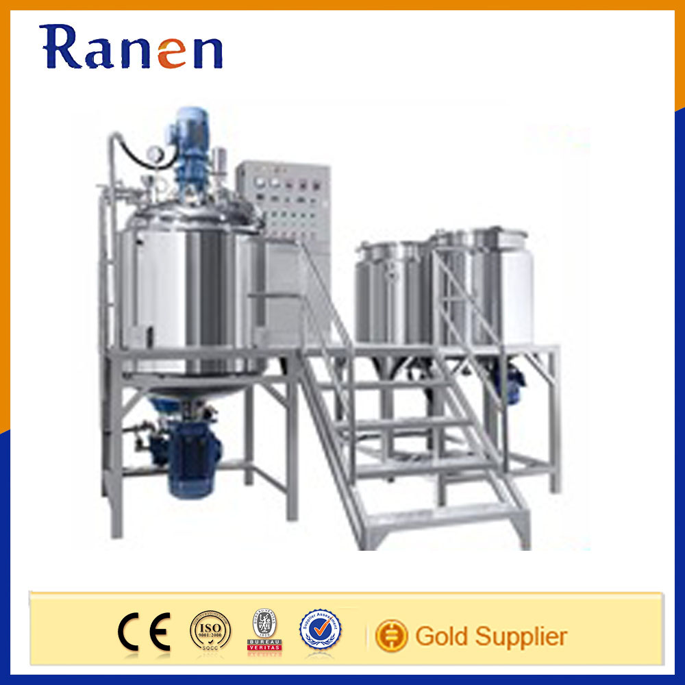 Industries yogurt and cheese making vacuum emulsifying machine
