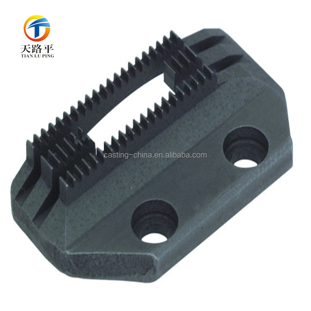 Custom Casting feed dogs Industrial Sewing Machine parts