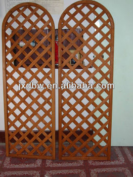 Decorative Wooden Garden Trellis Garden Fencing Factory