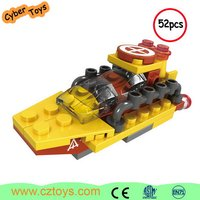 Good selling car models non-toxic blocks plastic blocks toys with main brand