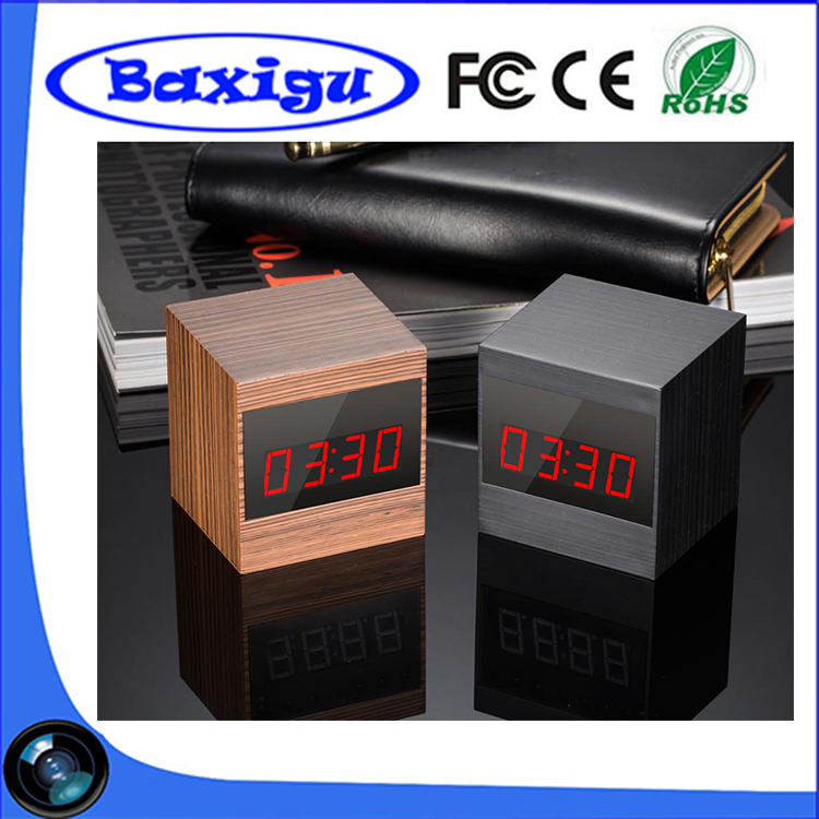 Wholesale <strong>Wifi</strong> HD1080P Night Vision Wide Angle Mini Clock Hidden Camera with Remote Control Wireless Spy Camera Clock